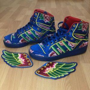 huge discount b08f8 a867c Jeremy Scott x Adidas